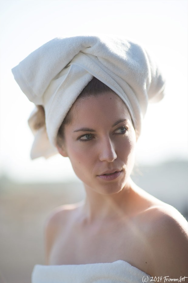 the towel Lingerie Photo by Photographer FrommArt