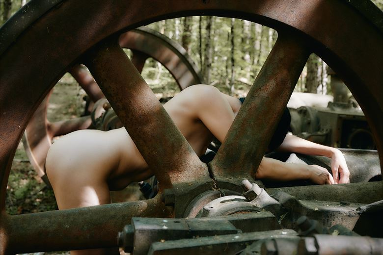 the wheels have stopped abstract photo by photographer daniel tirrell photo
