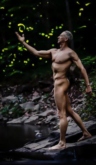 the wizard artistic nude photo by artist artfitnessmodel