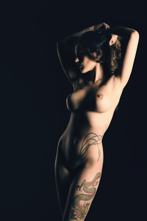 the woman with the dragon tattoo artistic nude photo by photographer germansc