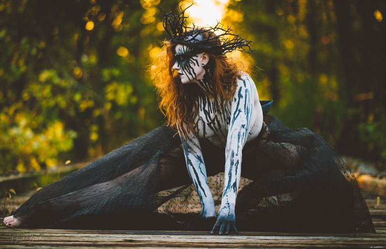the woods witch body painting photo by photographer zahndh23