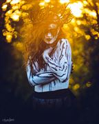 the woods witch in the sun erotic photo by photographer zahndh23