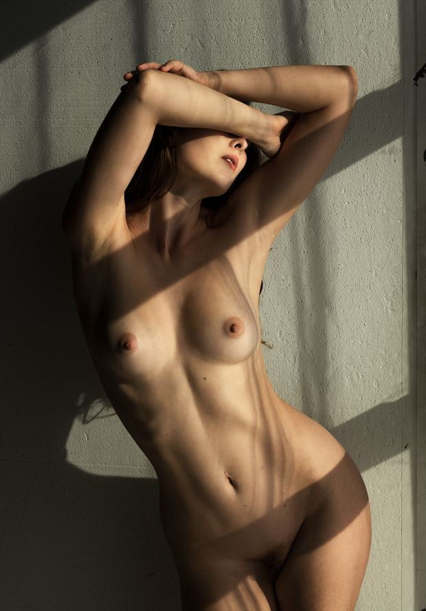 the world disappears artistic nude photo by photographer ellis