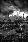 there s a storm brewing artistic nude photo by model helen saunders