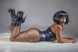 these boots are made for walking lingerie photo by model james_lopez