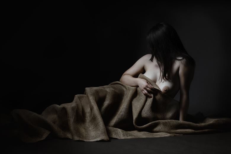 thetis artistic nude artwork by photographer hruby