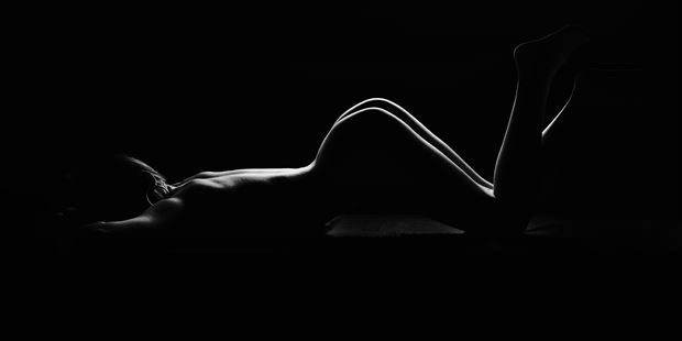 thin lines artistic nude photo by photographer germansc