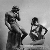 thinkers artistic nude photo by artist jean jacques andre