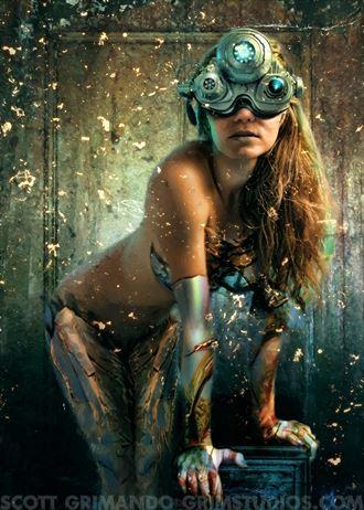 third eye surreal photo by artist scott grimando
