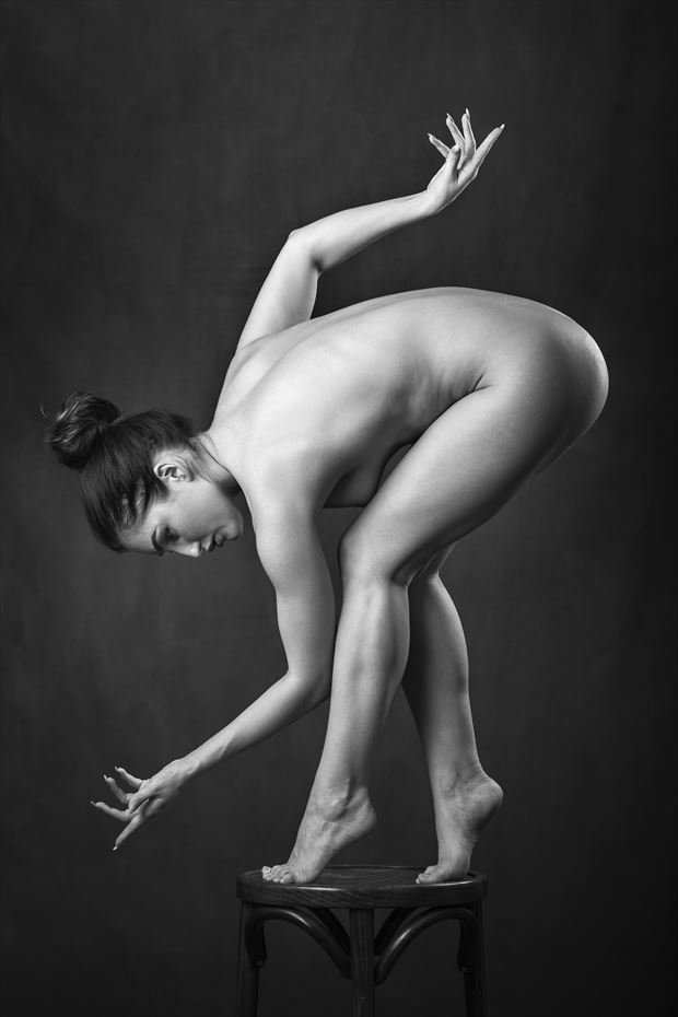 thonet en point artistic nude photo by photographer niall