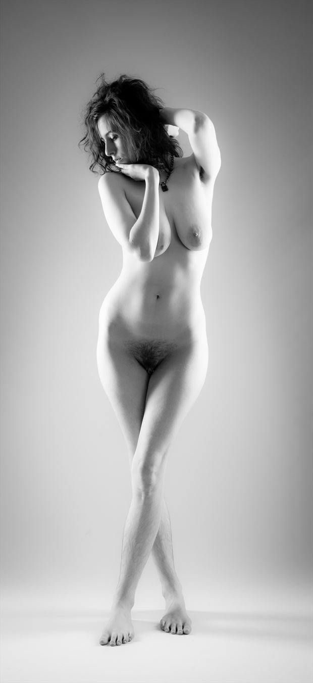 thought artistic nude photo by photographer allan taylor