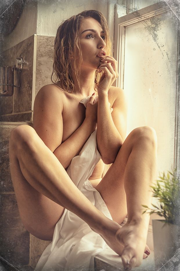 thoughts of a brighter day artistic nude photo by photographer ghost light photo