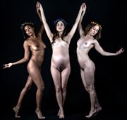 three graces artistic nude photo by photographer gpstack