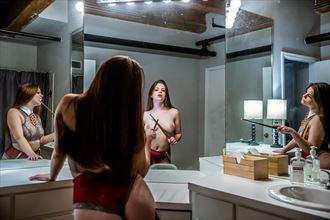 three kats artistic nude artwork by photographer dre brooks