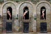 three times an aimee artistic nude photo by photographer john burrows