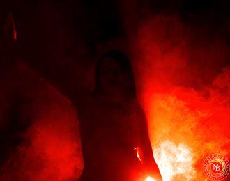 through the smoke artistic nude photo by photographer nakedbeauty