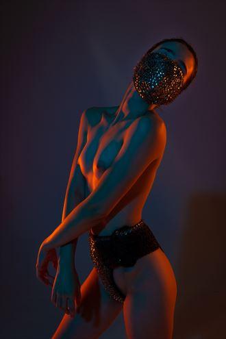 thumbtack glow artistic nude photo by model ahna green