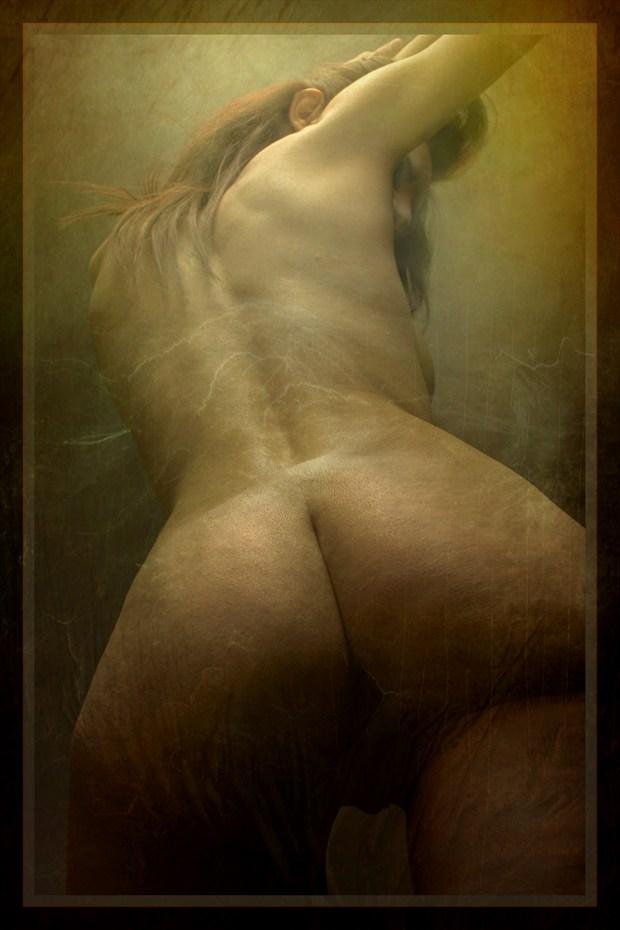 thunder Artistic Nude Artwork by Model Diana Revo