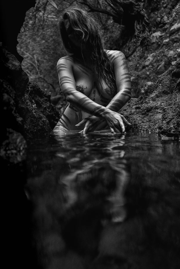 tiger s bath artistic nude photo by photographer soulcraft