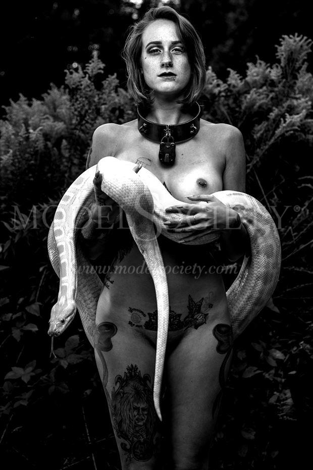 tina and the serpent artistic nude photo by photographer depa kote