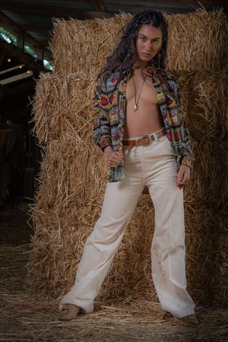toni in the barn erotic photo by photographer stanley images