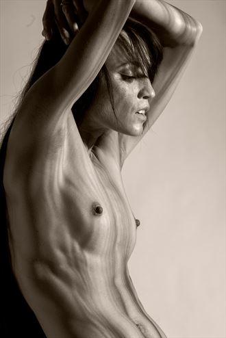 topography study artistic nude photo by photographer davechud