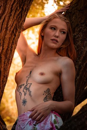 tori in the woods 03 artistic nude photo by artist svee
