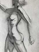 torso and hip study artistic nude artwork by artist edoism