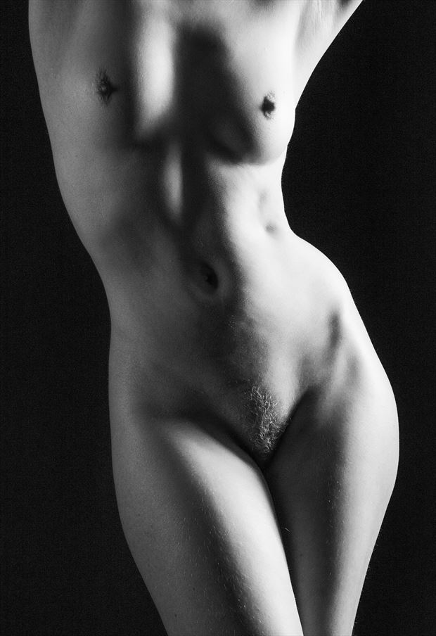 torso artistic nude artwork by photographer ian athersych