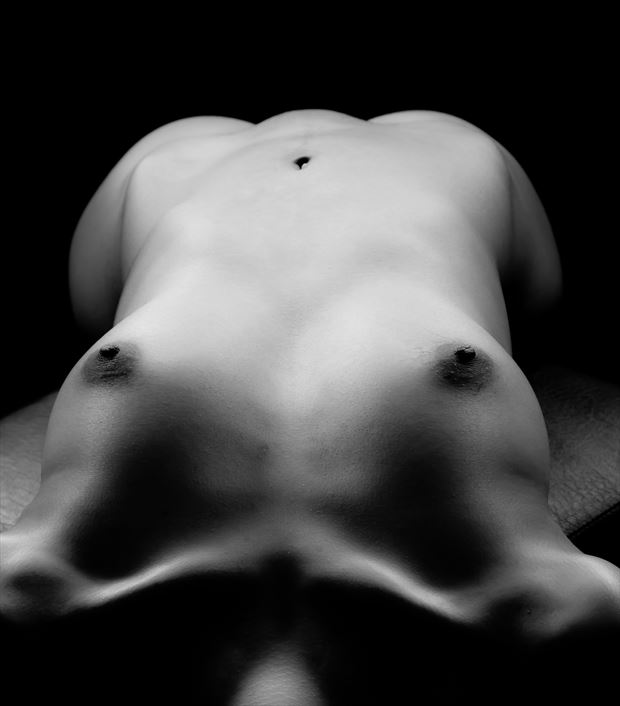 torso artistic nude photo by photographer allan taylor