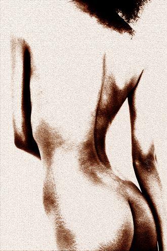 torso artistic nude photo by photographer gustavo combariza