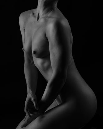 torso artistic nude photo by photographer richard byrne