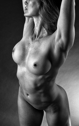 torso artistic nude photo by photographer rick jolson