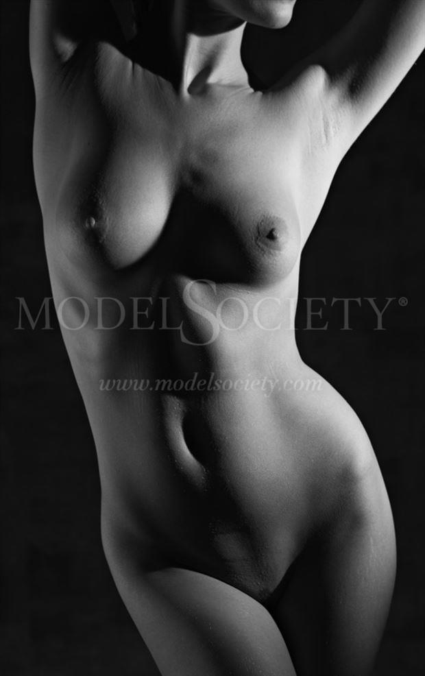 torso i artistic nude photo by photographer milt reeder