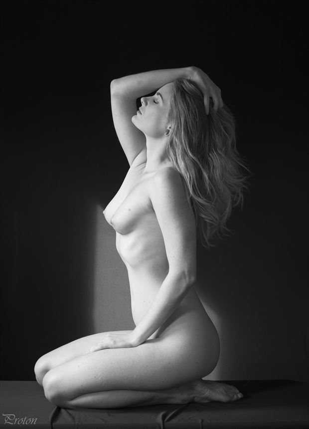 towards the light artistic nude photo by photographer proton