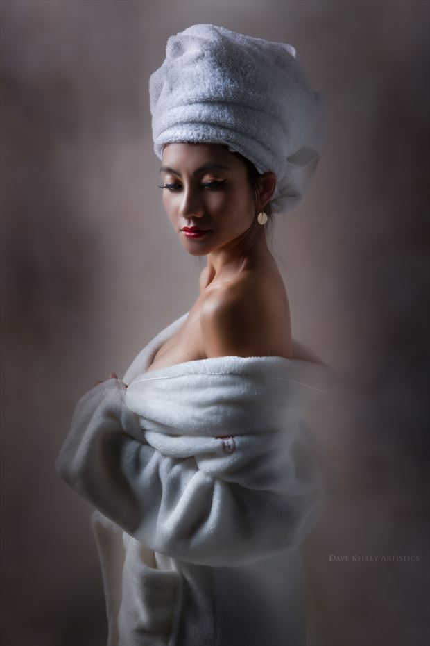 towel Surreal Photo by Photographer Dave Kelley Artistics