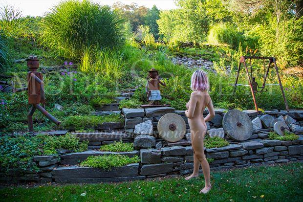 toyland artistic nude photo by photographer michael grace martin