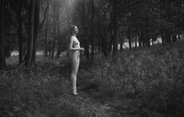 tracks artistic nude photo by photographer talisk