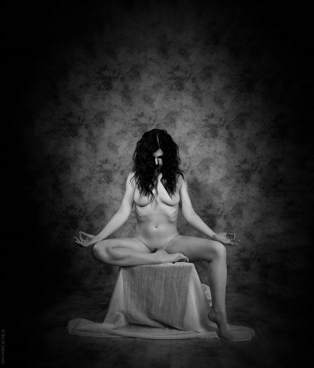 tranquil artistic nude photo by photographer bo michal