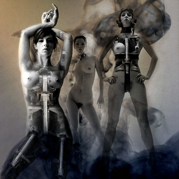 transformation Fantasy Photo by Artist jean jacques andre
