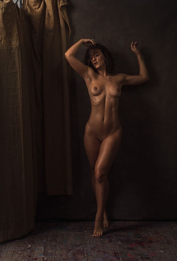 transparence artistic nude photo by photographer marc anthony