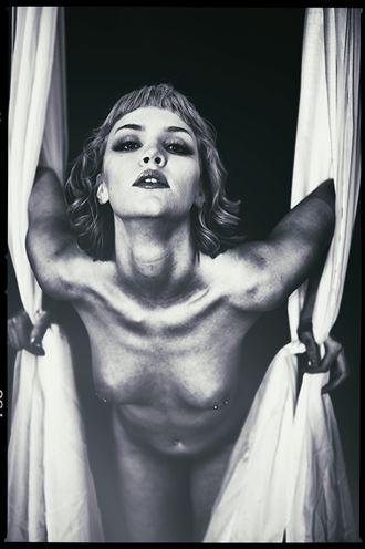 trapeze kay erotic artwork by photographer emissivity