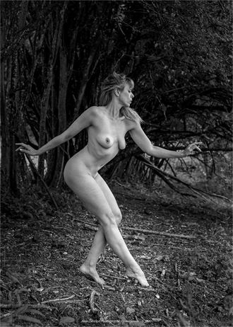 tread carefully artistic nude photo by model selkie
