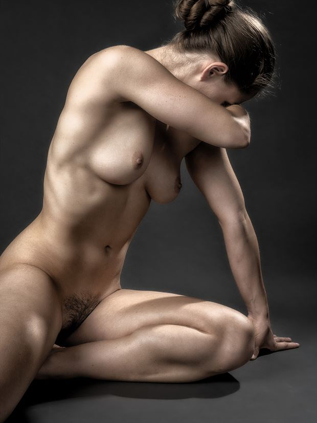 triangle poly artistic nude photo by photographer rick jolson