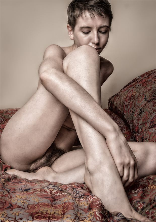 triangles artistic nude photo by photographer rick jolson