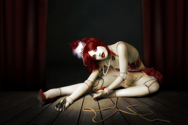 tribute to Michael Hussar Body Painting Photo by Photographer Andrea Peria