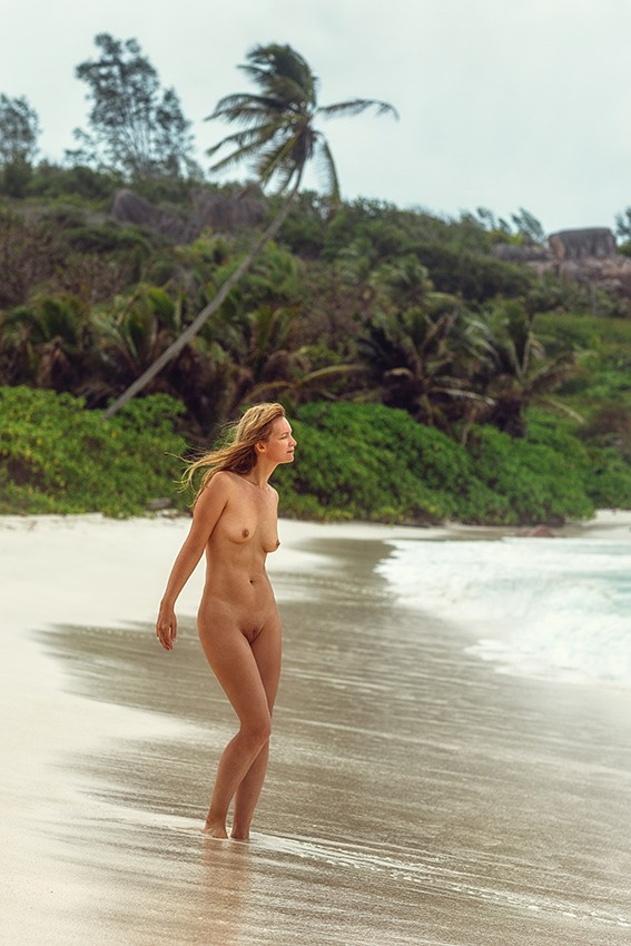 tropical Paradise Artistic Nude Photo by Photographer dml
