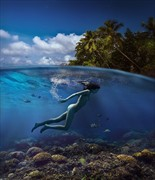 tropical fairy Artistic Nude Photo by Photographer dml