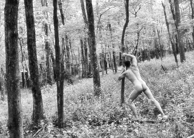 trying to right the world artistic nude photo by model avid light