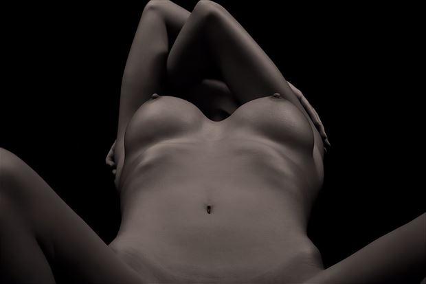 twin peaks artistic nude artwork by model leggykelly
